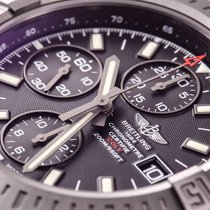 Breitling Colt Automatic Chronograph Blacksteel on Robber Pro III