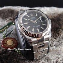 勞力士 (Rolex) 116334 Datejust II Black Stick Index Dial [N E W]