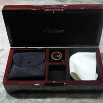 Cartier vintage wooden box kit connoisseur rare with loupe