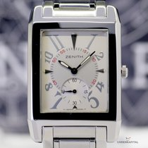 Zenith Port Royal Elite silver Dial small Second Top Dresswatch
