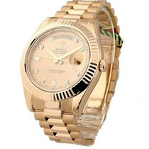 Rolex Unworn 218235 Day-Date II President in Rose Gold -...