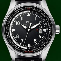IWC Pilot Worldtimer 45mm Black Dial Automatic 2016 B&P NOS