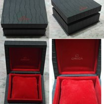 Omega vintage watch box black and red for any model newoldstock