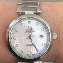 Omega Ladymatic Mother of Pearl/Diamond Dial