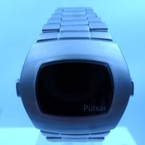 Pulsar vintage NOS 1975 LED watch all steel P3 TIME COMPUTER