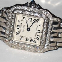 Cartier Panther 18K Solid White Gold Diamonds