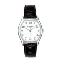 Patek Philippe 5030G Gondolo Ref 5030 in White Gold - on Black...