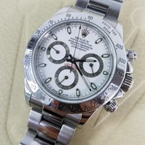 Rolex DAYTONA Stainless Steel Watch White Dial