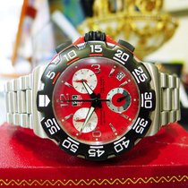 TAG Heuer Formula 1 Professional  200m Cac1112 Red Dial Watch