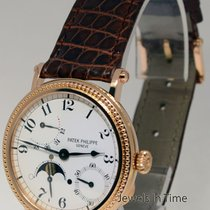 Patek Philippe Complications 18k Rose Gold Mens Watch Box/Pape...