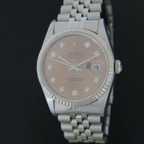 Rolex Oyster Perpetual Datejust Pink Diamond Dial