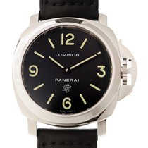 パネライ (Panerai) Luminor Stainless Steel Black Manual Wind PAM01000
