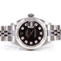 Rolex Ladies Datejust - Black Diamond Dial - 79174