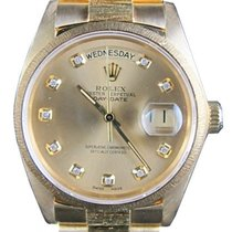Ρολεξ (Rolex) Day-Date President 18078 18k Yellow Gold Bark...