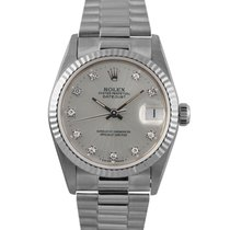 Rolex Datejust Midsize 18k White Gold with Diamond Dial,...