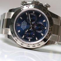 Rolex DAYTONA 116509 White Gold Blue Dial