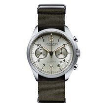 Hamilton Men's H76456955 Khaki Aviation Pilot Pioneer Watch