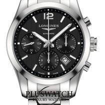 Longines Conquest Classic Black Dial Steel Men's Watch G
