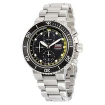 Oris Aquis Depth Gauge Autoamtic Black Dial Men's Watch