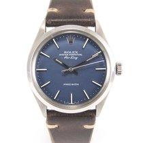 "Rolex Airking 5500 vintage 34 mm ""Blue dial"""