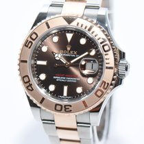 Rolex Yacht-Master Stahl Rose Gold 116621 Papiere 2016