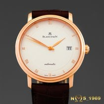 Blancpain Villeret  Automatic 18K Rose Gold  38mm   Box &...