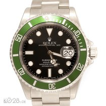 Rolex Submariner Date 16610LV Flat 4 Four Papers 12/03 F10-Series