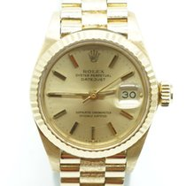 Rolex Lady- Datejust President Yellow Gold