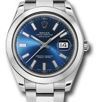 Rolex DIE NEUE DATEJUST 41 BLUE INDEX OYSTER