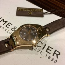 Baume & Mercier Linea Ladies Diamond Dial 18kt Rose ref...