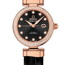 Omega DeVille Ladymatic Rose Gold Watch