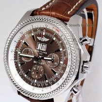 Breitling Bentley 6.75 Chronograph Steel Bronze Havana Dial...