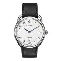 Hermès Arceau Automatic TGM 41mm Mens Watch Ref AR7.710.220/VBN
