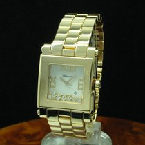 Chopard Happy Sport 18kt 750 Rosegold Damenuhr Brillant Besatz...