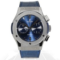 Hublot Classic Fusion Blue Chronograph Titanium 45mm -...