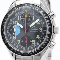 Omega Speedmaster Mark 40 Am/pm Steel Automatic Watch 3520.53...