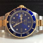 Rolex Submariner Blue Dial Ouro e Aço