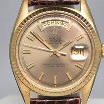 Ρολεξ (Rolex) Vintage Day Date 1803 Spanish Pie pan Crocodile...