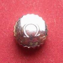 Omega Krone in Stahl, Ø 6,50mm, Höhe 4,50mm, Gewinde 1,2mm,...