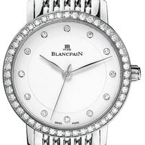 Blancpain Villeret Ultra Slim Ladies Automatic 29mm 6102-4628a...