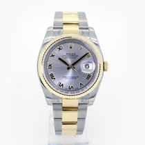 Rolex Datejust 36mm Silver Roman Dial 116233 Oyster