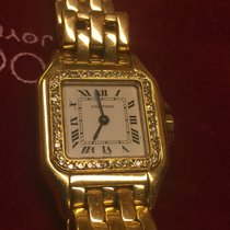 Cartier Panthere 18 kt gold and diamonds