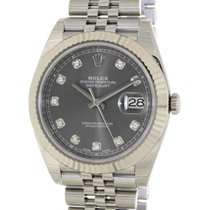 Rolex Datejust II 126334 Steel, Diamonds, 41mm