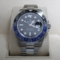 "Rolex GMT-Master II Steel Black-Blue ""Batman"" Ceramic..."