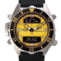 Chris Benz Depthmeter Digital CB-D200-Y-KBS Herrenchronograph...
