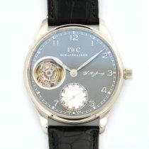 IWC White Gold Portuguese F.A. Jones Tourbillon Watch Ref....