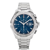 TAG Heuer Aquaracer 300m Steel Mens Chronograph Watch CAY2112....