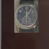 Patek Philippe 5905P-001 Annual Calendar Chronograph Blue Dial