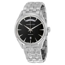 Hamilton Jazzmaster Black Dial Stainless Steel Men's Watch...