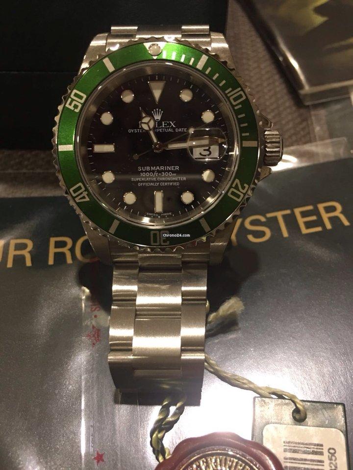 Rolex Submariner Date Green